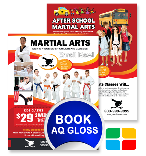 Martial Arts Flyers ma020010 8.5 x 11