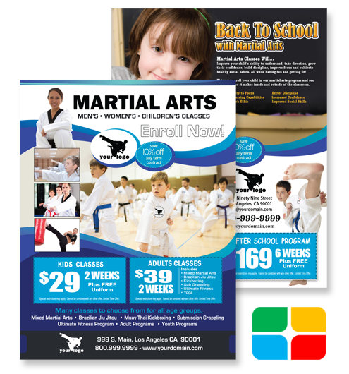 Martial Arts Flyers ma020020