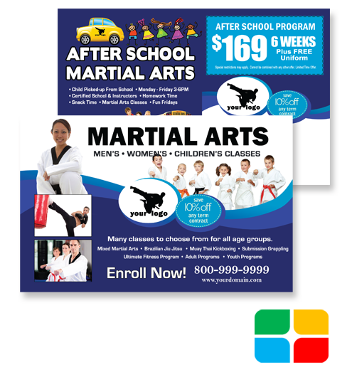 Martial Arts Postcards ma020020