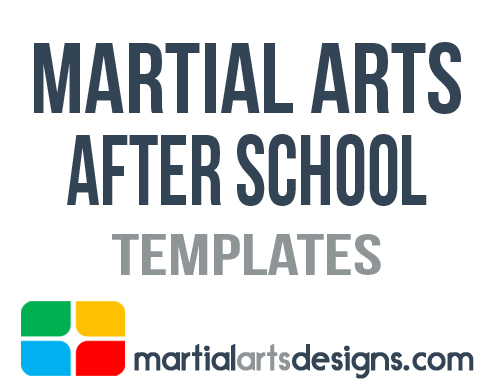 Martial Arts After School Template