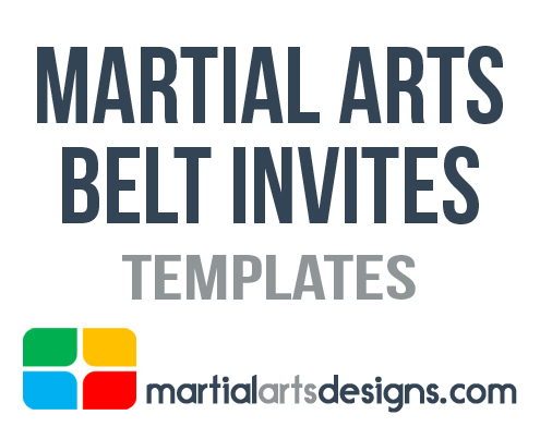 arts belt invitation templates, Presentation templates
