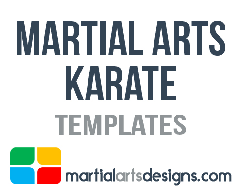 Arts karate templates martial arts karate templates yelopaper Images