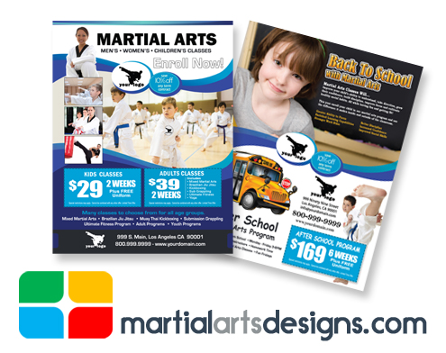 Martial Arts Flyers #MA020020