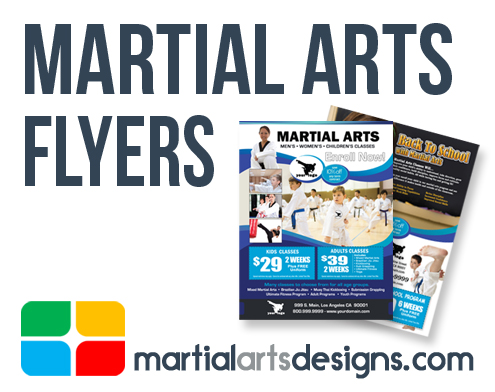 Martial Arts Flyer Templates