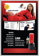 Martial Arts Graphic Design